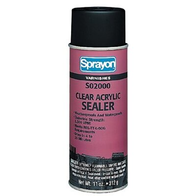 Sprayon Clear Acrylic Sealants - 16-oz clear acrylic ttl-50