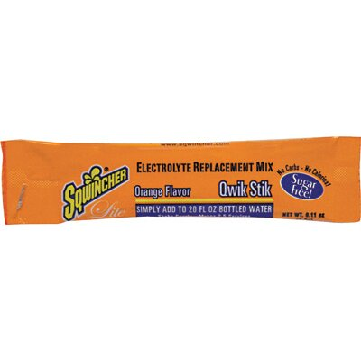 Sqwincher Orange Qwik Stik Pouch - Add To 20 Ounce Bottle Of Water (50 Per Package)
