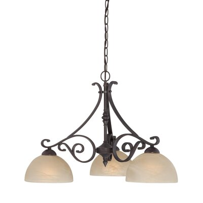 Melody 3 Light Chandelier