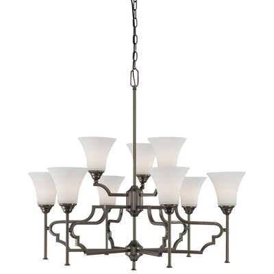 Thomas Lighting Chiave 9 Light Chandelier
