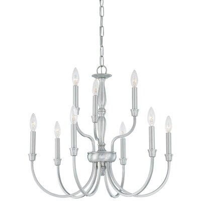 Winston 9 Light 60W Chandelier