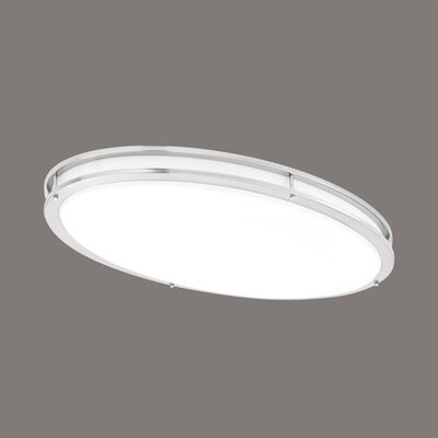 "Thomas Lighting 2 Light 17"" Flush Mount"