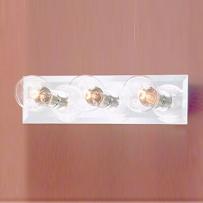 Thomas Lighting Mirrored 3 Light Bath Bar