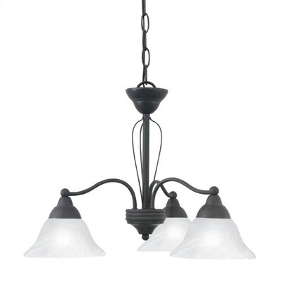 Thomas Lighting Cortland 3 Light Chandelier