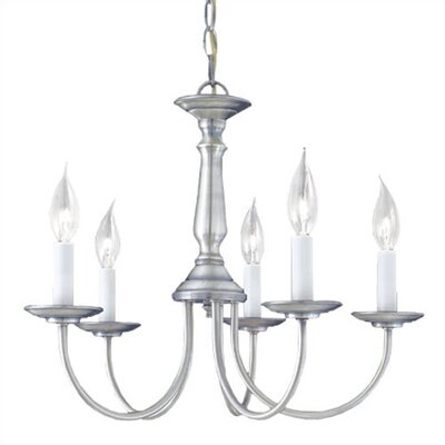 Thomas Lighting 5 Light Candelabra Chandelier