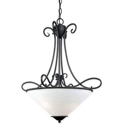 Thomas Lighting Tango 3 Light Inverted Pendant