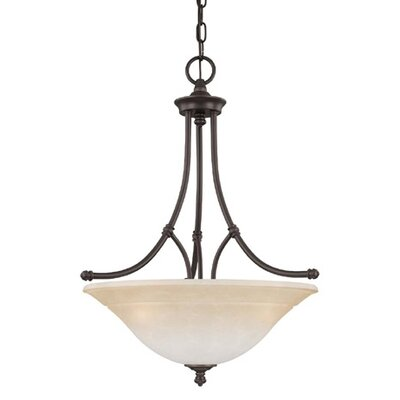 Thomas Lighting Harmony 3 Light Inverted Pendant