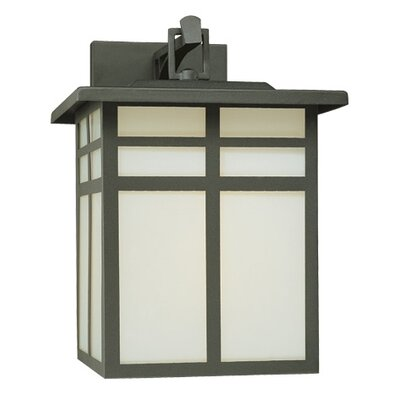 Thomas Lighting Mission 1 Light Outdoor Narrow Wall Lantern