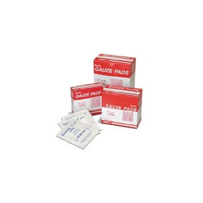 "Swift First Aid 2"" X 2"" Sterile Gauze Pads (100 Per Box)"