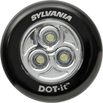 Sylvania DOTS LED Tap Light Bulb in Silver