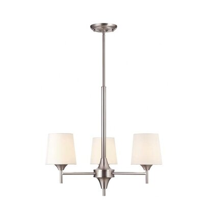 Parker Mews 3 Light Chandelier