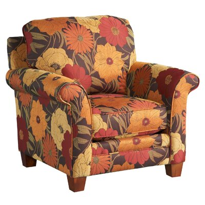 Jackson Furniture Hartwell Velvet Chair and Ottoman