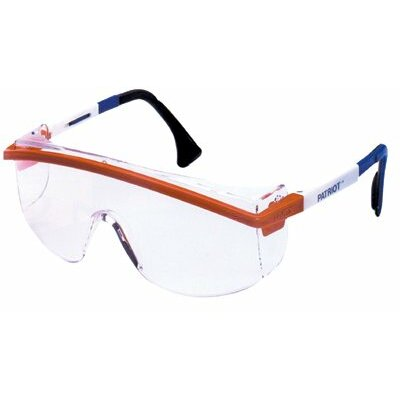 Uvex by Sperian Astrospec 3000® Eyewear - uvex astrospec 3000 safety spectacle black frame
