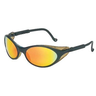 Uvex by Sperian Bandit™ Eyewear - uv s1607 bandit black/rainbow mirror