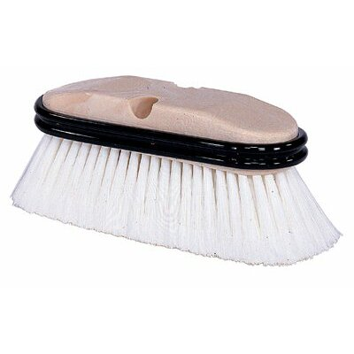 "Weiler Truck Wash Brushes - 9-1/2"" truck wash brushw/o handle gray fiber"