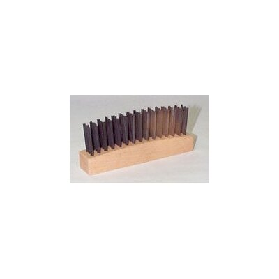 "Weiler Hammer Refill With 4 5/8"" X 7/8"" Block And 3 X 15 Rows 1 1/8"" Trim 0.012 Steel Fill"