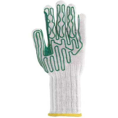 "Wells Lamont Small Whizard® Slipguard® Left Hand B Pattern Heavy Duty High Performance Fiber And Stainless Steel Cut Resistant Gloves With 6"" Extended Cuff And Polyurethane Coating"