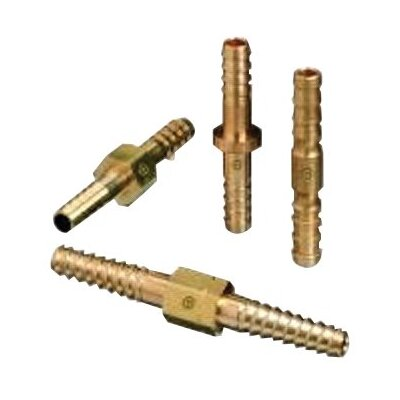Western Enterprises Brass Hose Splicers - splicer barb