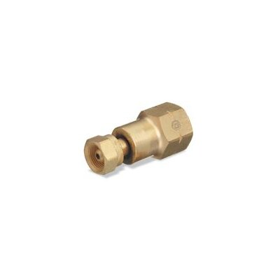 Western Enterprises Adapter CGA-200 MC Acetylene Cylinder To CGA-510 POL Acetylene Regulator