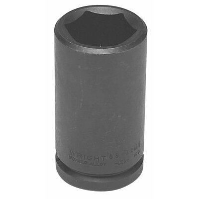 "Wright Tool 3/4"" Dr. Deep Impact Sockets - 3/4""dr 6pt 35mm deep metric impact sock"