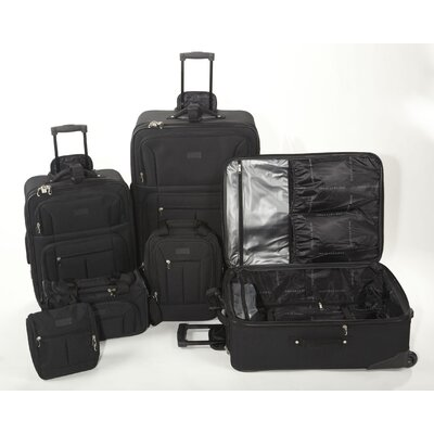 Geoffrey Beene 6 Piece Luggage Set