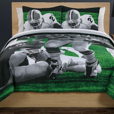 PEM America Photoreal Football Running Back Comforter Set
