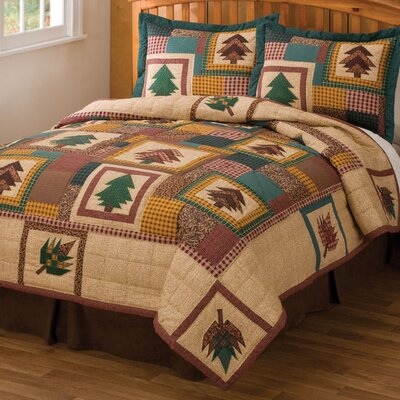Autumn Treasure 2 Piece Quilt Set