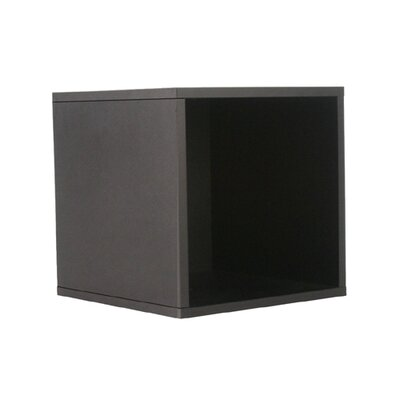 "OIA Cube 15"" Open Storage Cube in Black"