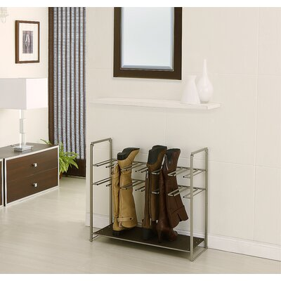 OIA Organize It All Stackable Boots Rack