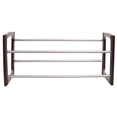 2 Tier Expanding Shoe Rack