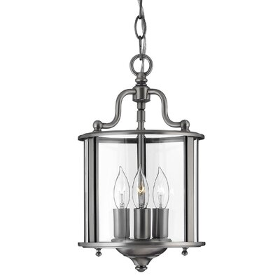 Gentry 3 Light Foyer Pendant