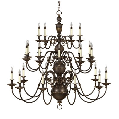 Hinkley Lighting Cambridge 25 Light Chandelier