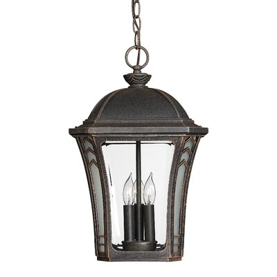 Hinkley Lighting Wabash 3 Light Outdoor Hanging Lantern