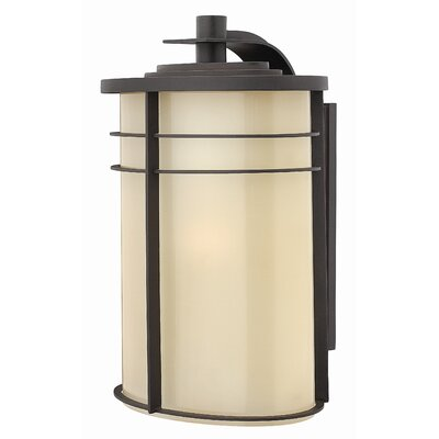 Hinkley Lighting Ledgewood X-Large Outdoor Wall Lantern in Vintage Black