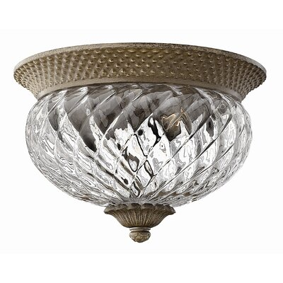 Hinkley Lighting Plantation 2 Light Flush Mount
