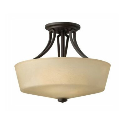 Hinkley Lighting Parker 2 Light Semi Flush Mount