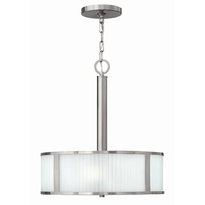 Hinkley Lighting Midtown 3 Light Drum Pendant