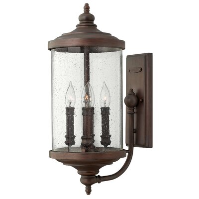 Hinkley Lighting Barrington 4 Light Medium Outdoor Wall Lantern