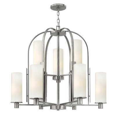 Hinkley Lighting Piper 9 Light Chandelier