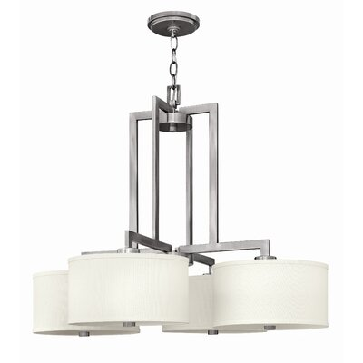 Hampton 4 Light Foyer Pendant