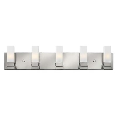 hinkley lighting omni 5 light bath vanity light allmodern