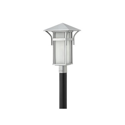 "Hinkley Lighting Harbor 1 Light 11"" Outdoor Post Lantern"