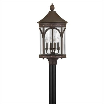 "Hinkley Lighting Lucerne 4 Light 13"" Post Lantern"