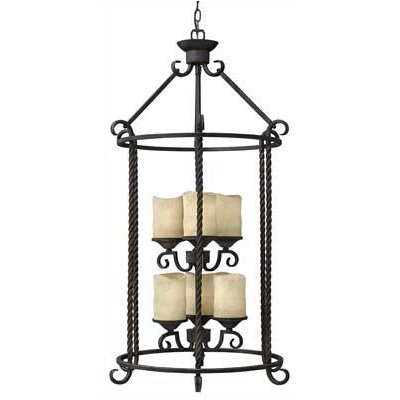 Hinkley Lighting Casa 6 Light Foyer Chandelier