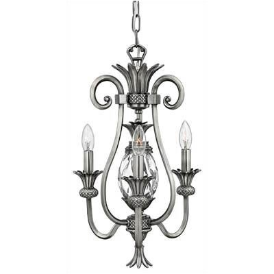 Hinkley Lighting Plantation 3 Light Mini Chandelier