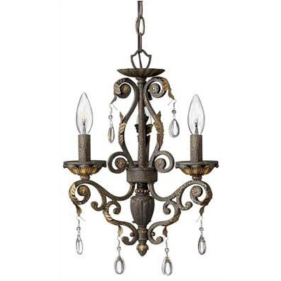 Hinkley Lighting Veranda 3 Light Mini Chandelier