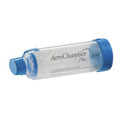 Invacare Aero Chamber Plus Z STAT aVHC with Mouthpiece (Pack of 10)