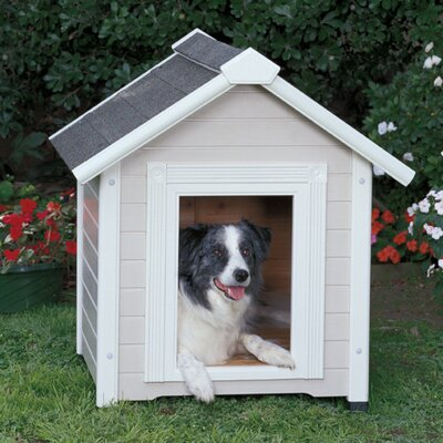 ProConcepts Country Club Estate Dog House in Cream / White
