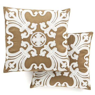 <strong>Safavieh</strong> Margaret Cotton Decorative Pillow (Set of 2)