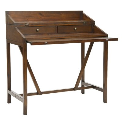 Safavieh Borders Writing Desk with Keyboard Tray